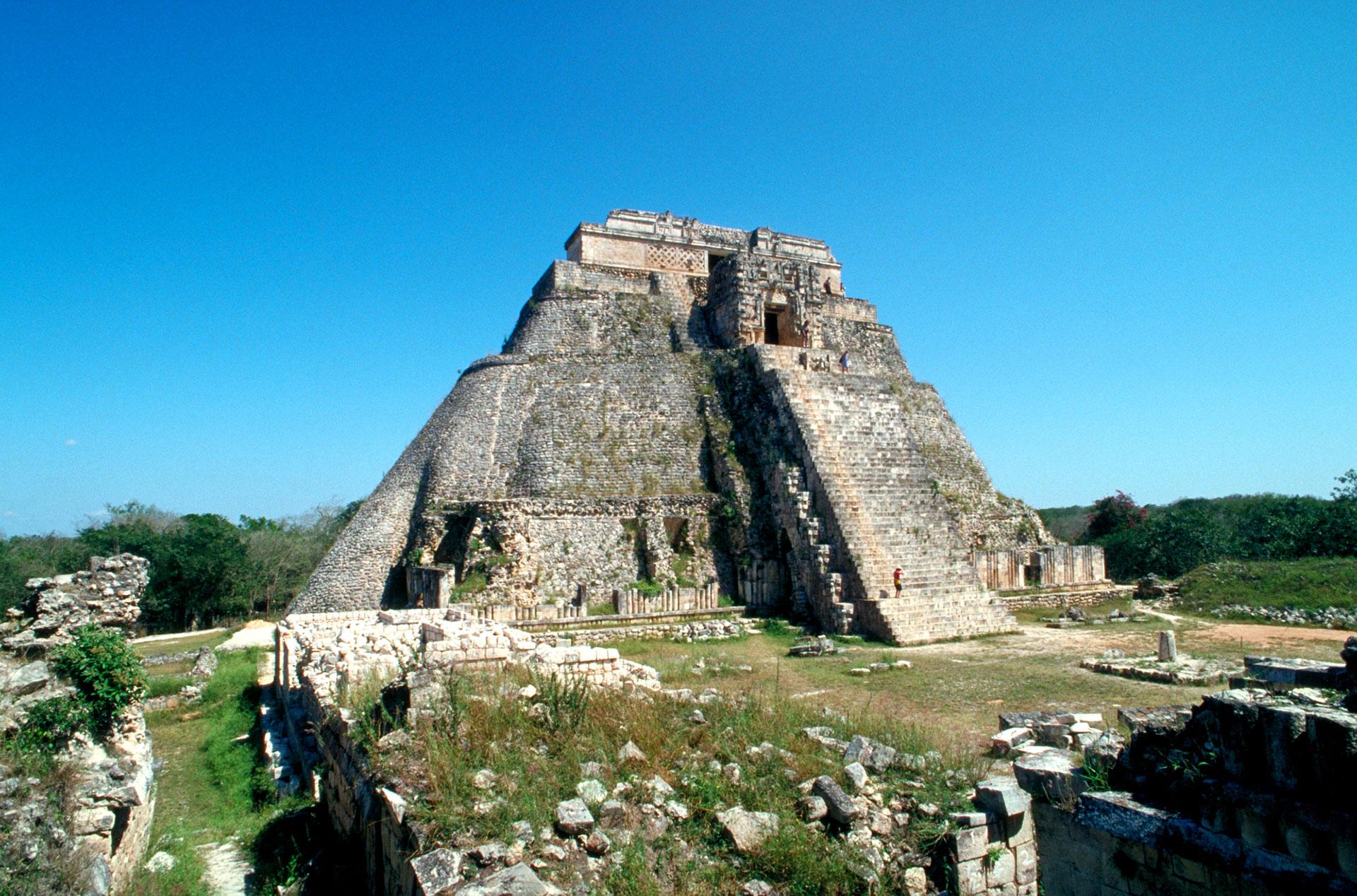 Maya ruins at Uxmal