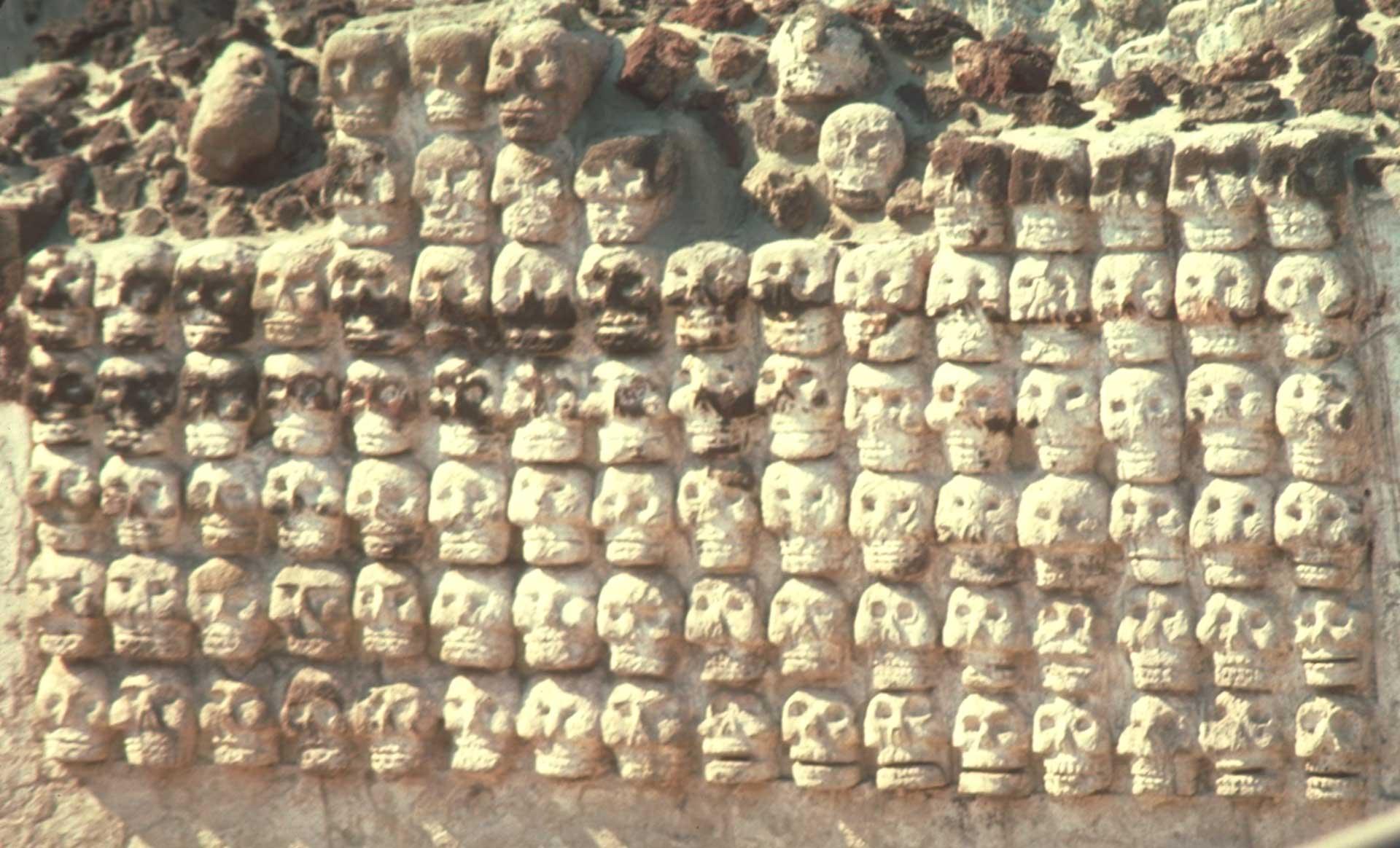 Aztec skull rack (Tenochtitlán)