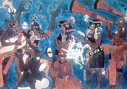 Fresco at Bonampak